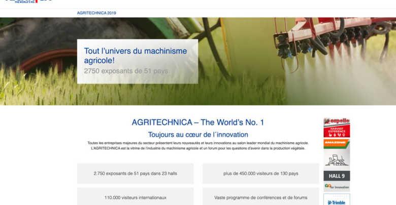 Agritechnica 2019 Farm Connexion